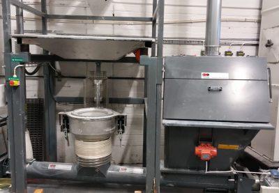 Dust-free handling of titanium dioxide