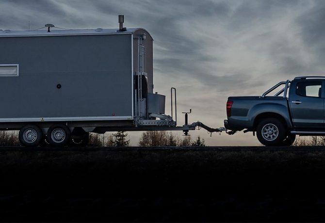 Största vakuumoket lyfter vagnar i Norrland